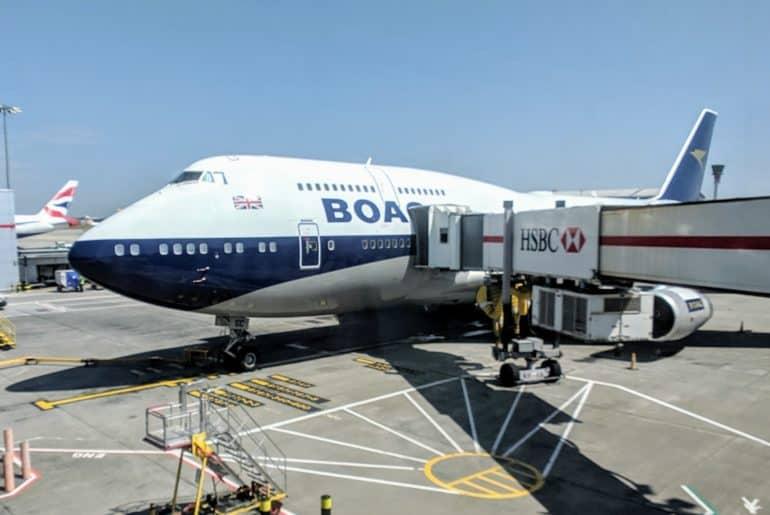 Boeing 747-400 BOAC Livery