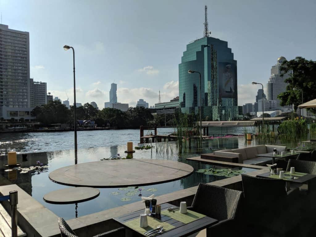 Millennium-Hilton-Bangkok-view-breakfast