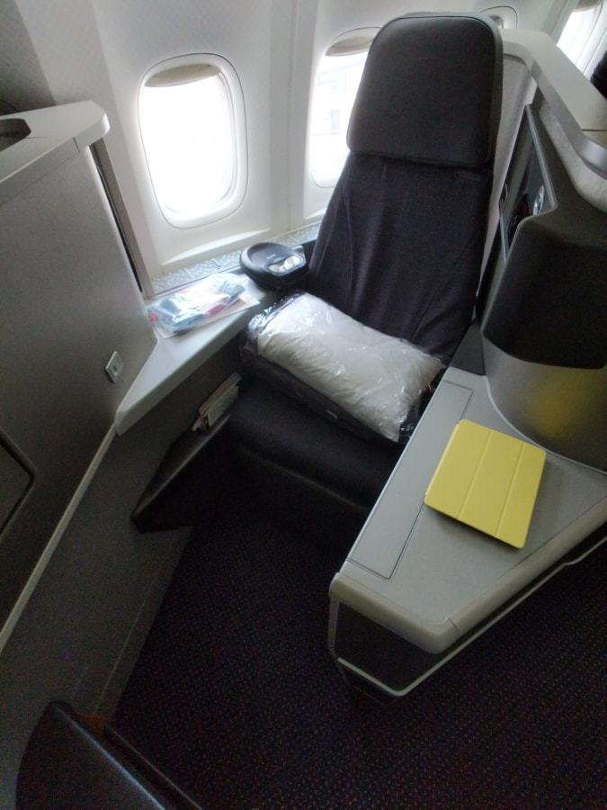 American Airlines 777-200 Business Class seat