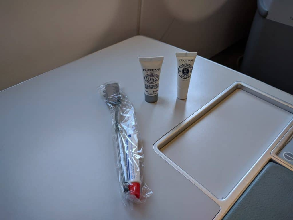 Finnair A330 Business Class Amenity Kit