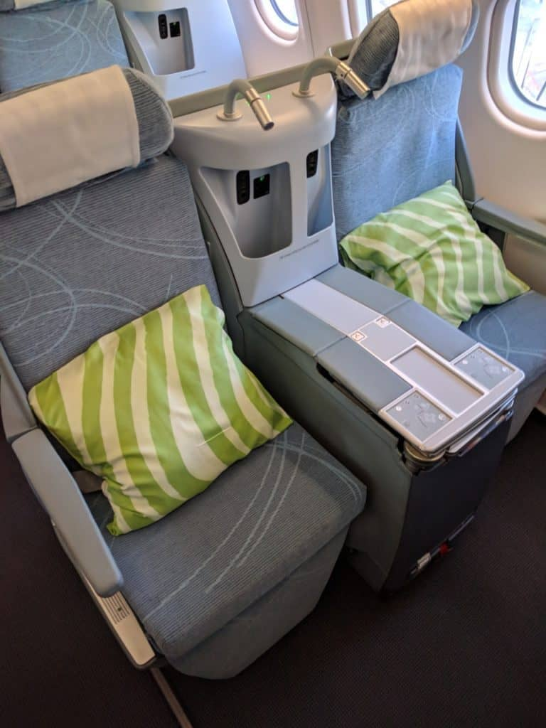 Seats 3A/C - Finnair A330 Business Class