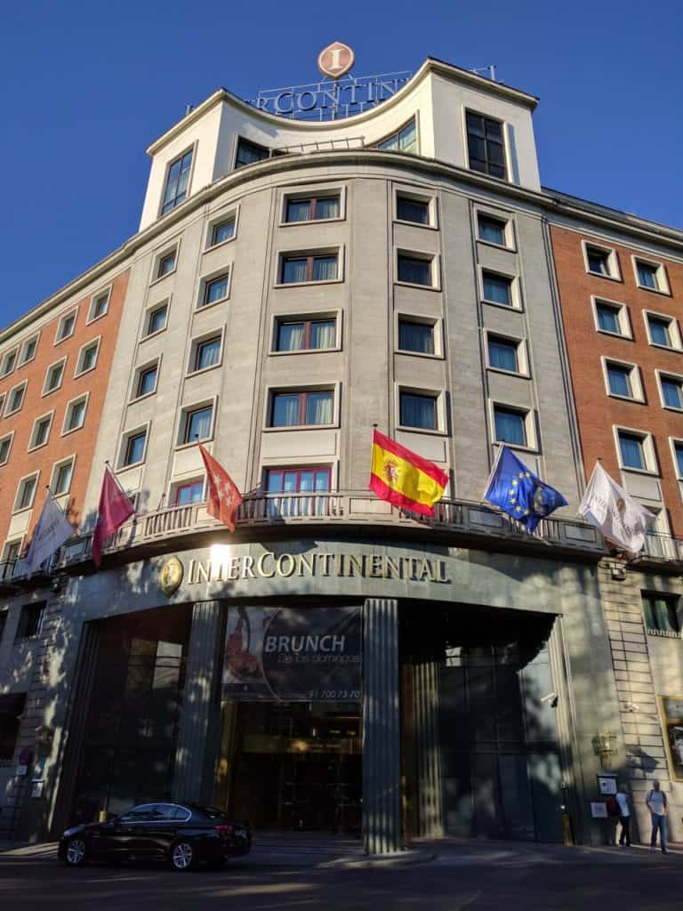 Hotel Review: InterContinental Madrid