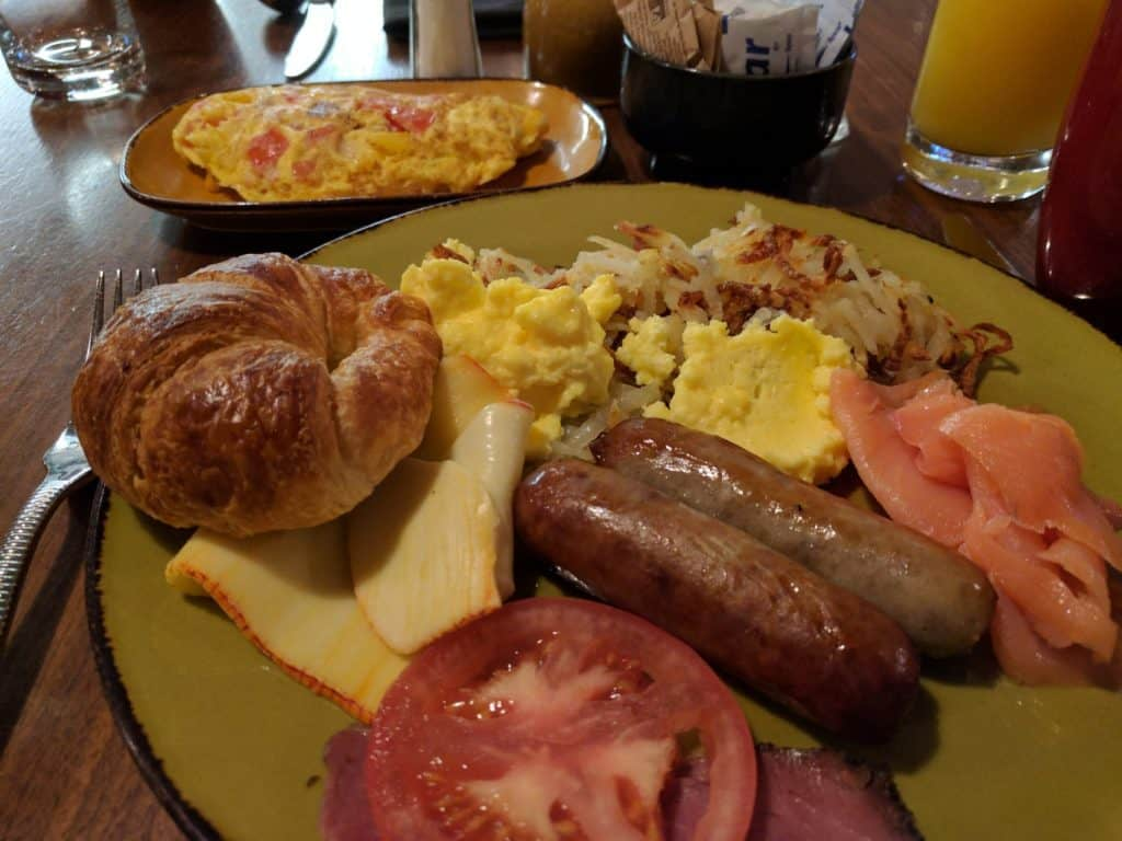 Intercontinental Miami Breakfast