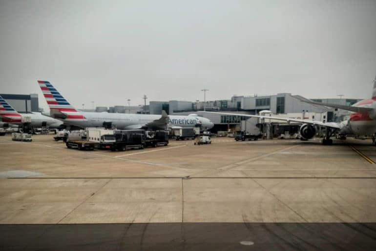 Review American Airlines 777 200 Business Class From London To Los Angeles