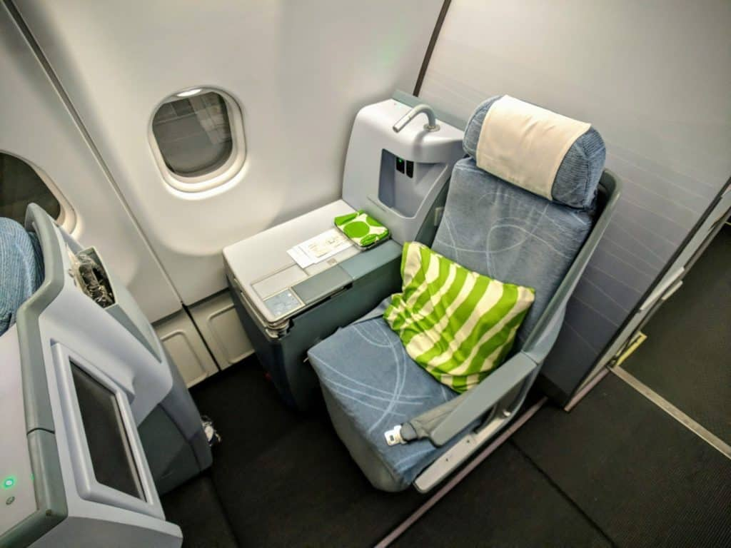 Review: Finnair (A330-300) Business Class from Helsinki to Bangkok