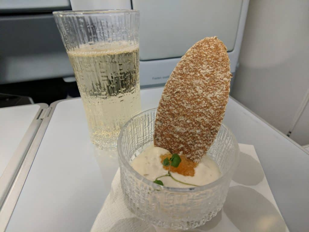Finnair A330 Business Class Helsinki-Bangkok
