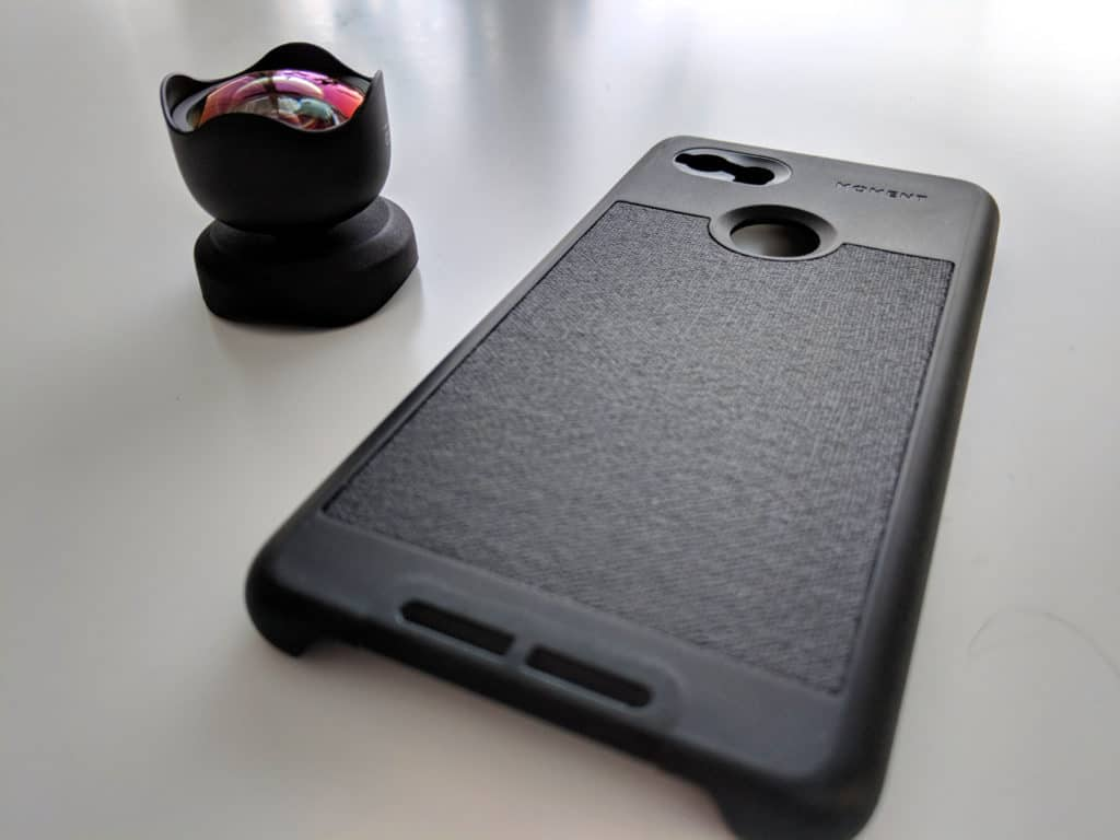 Moment smartphone cover and 18mm Wide Lens