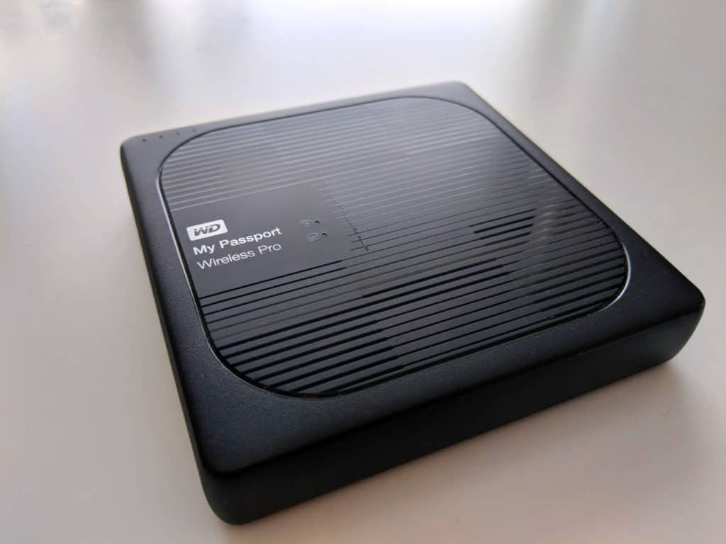 Western Digital My Passport Wireless Pro 2TB Portable drive