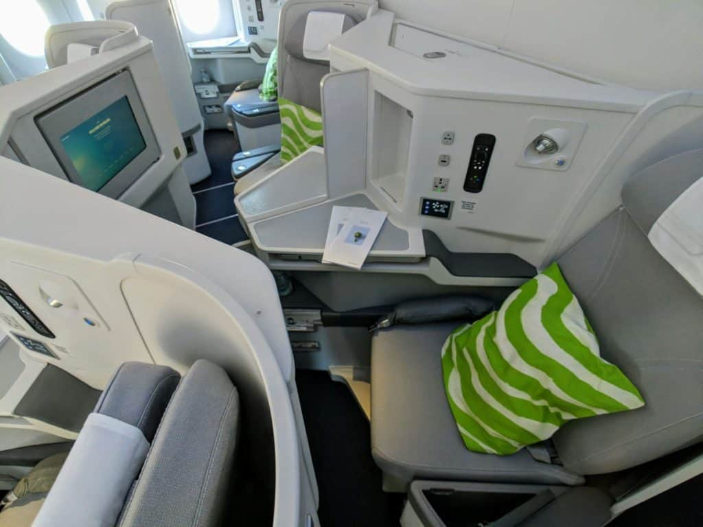 Business Class Review Finnair A350 Bkk Hel 012