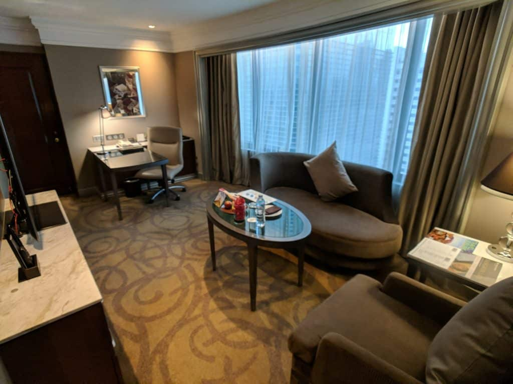 Hotel Review Intercontinental Bangkok 006