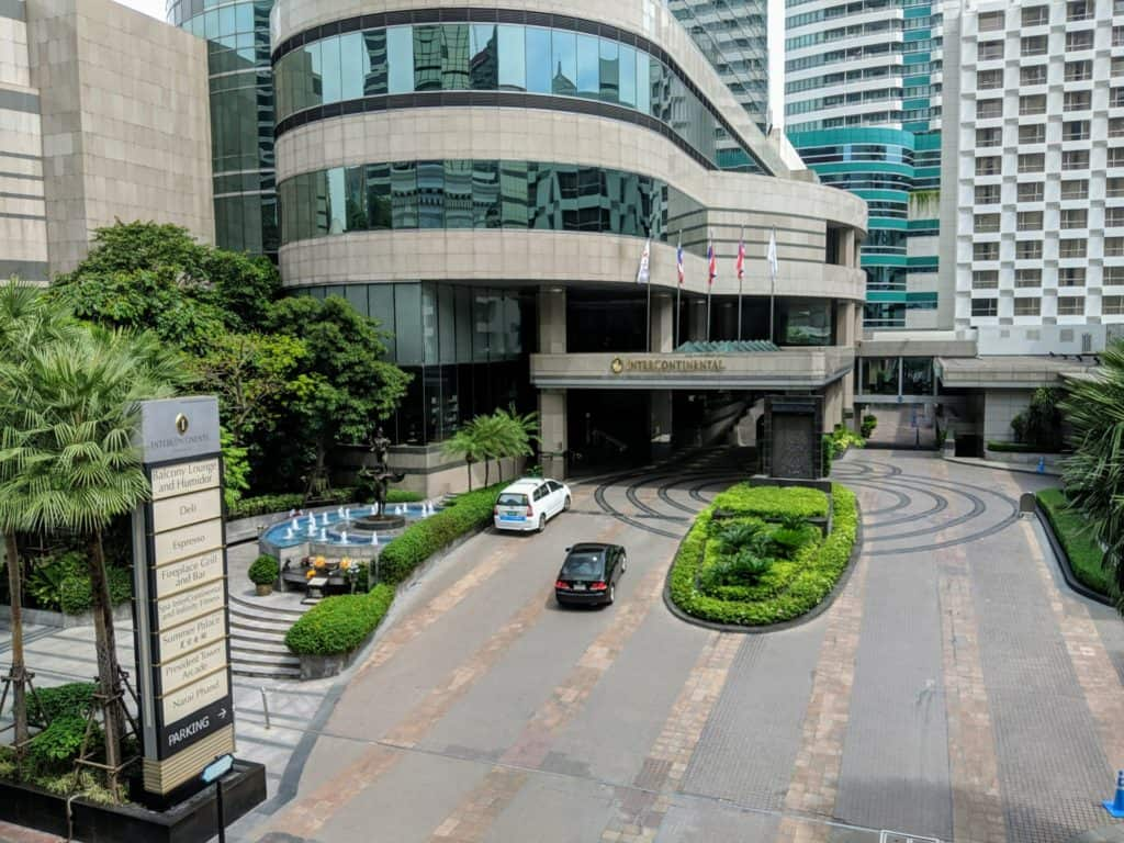Hotel Review Intercontinental Bangkok 019