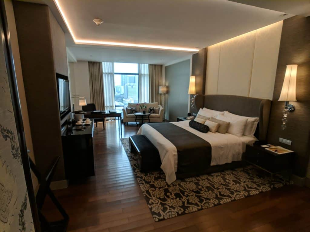 The Grand Deluxr room, St. Regis Bangkok