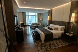 The Grand Deluxe room, St. Regis Bangkok