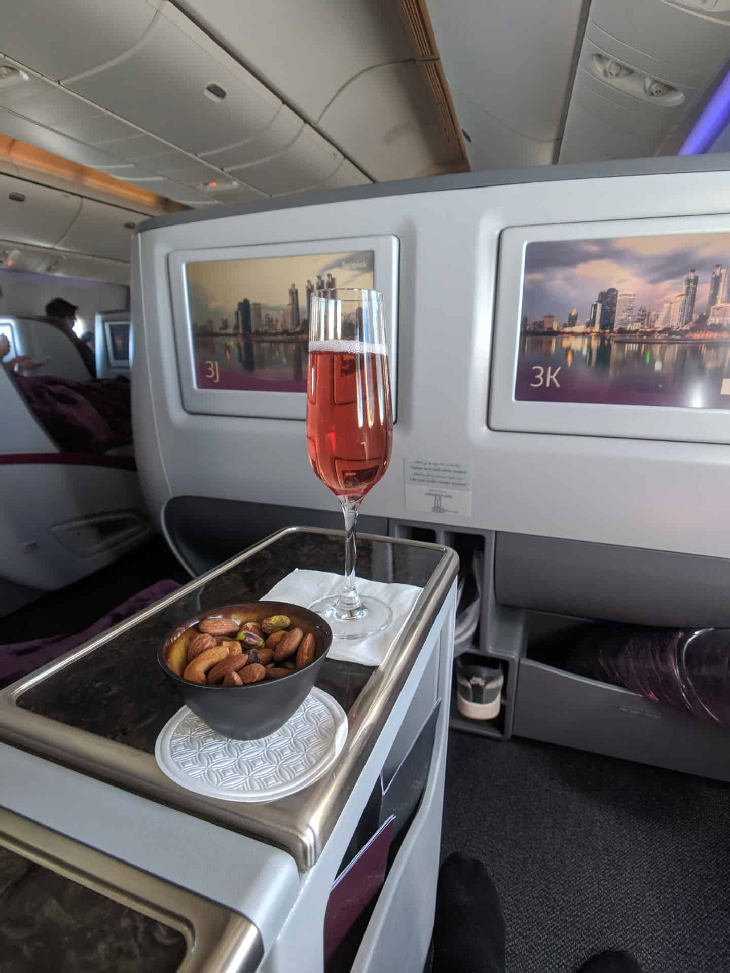 2019 Qatar Airways 777 Business Class Review 001