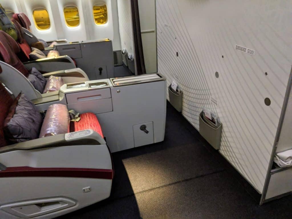 2019 Qatar Airways 777 Business Class Review 003
