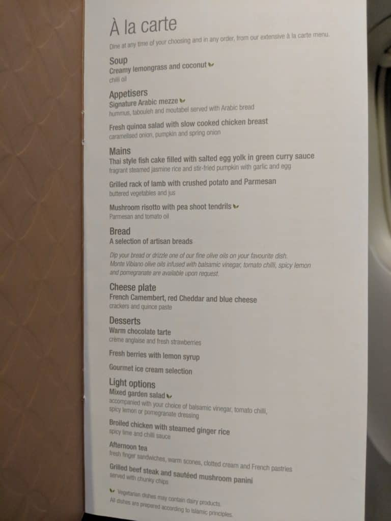 2019 Qatar Airways 777 Business Class Review 004
