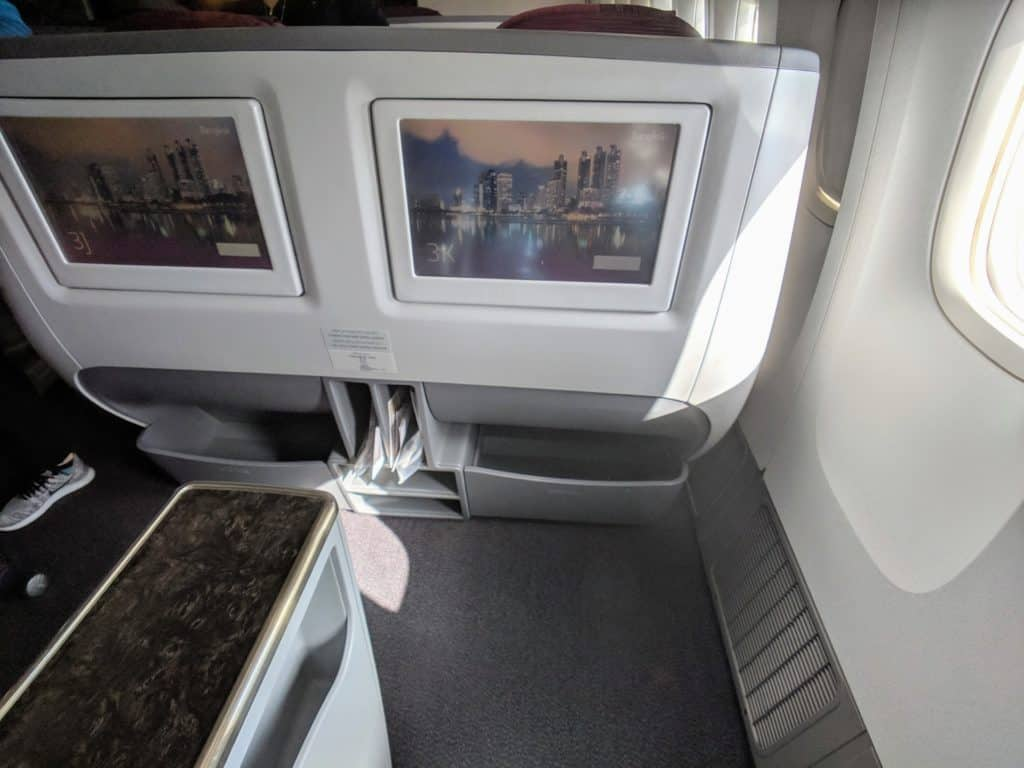 2019 Qatar Airways 777 Business Class Review 010