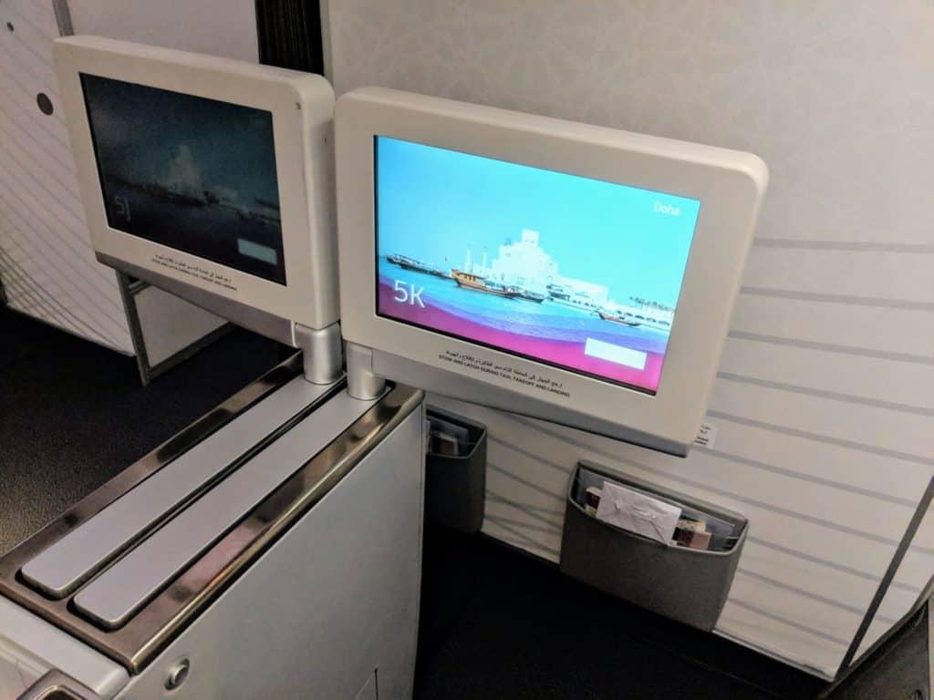 2019 Qatar Airways 777 Business Class Review 013