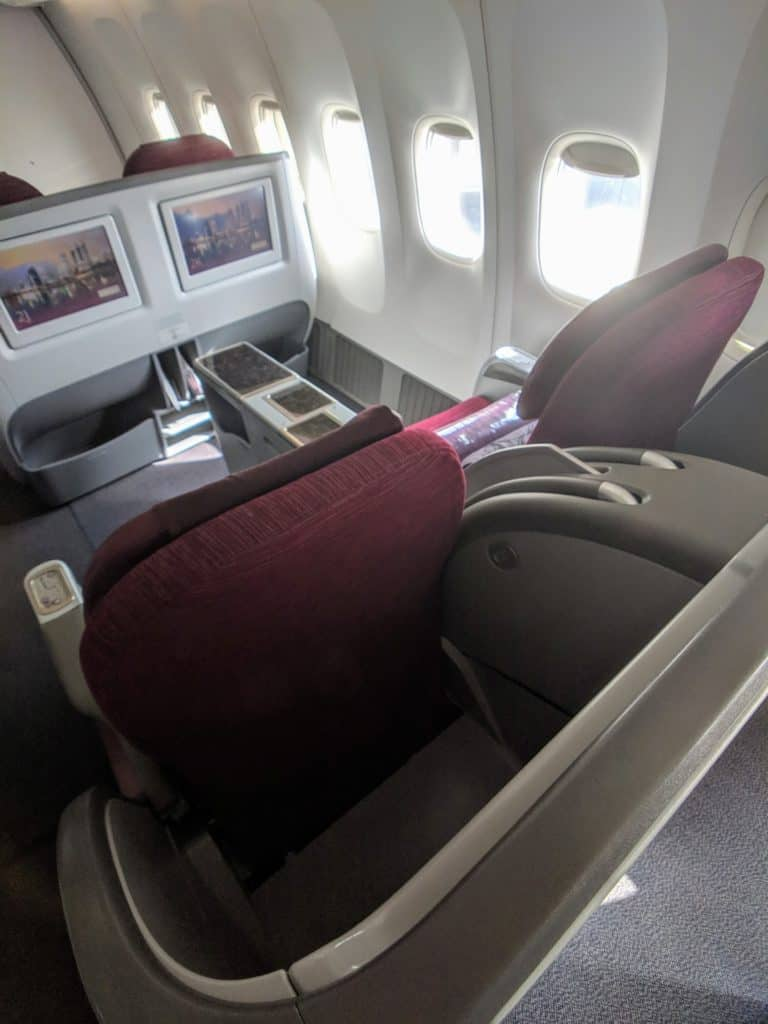 2019 Qatar Airways 777 Business Class Review 016