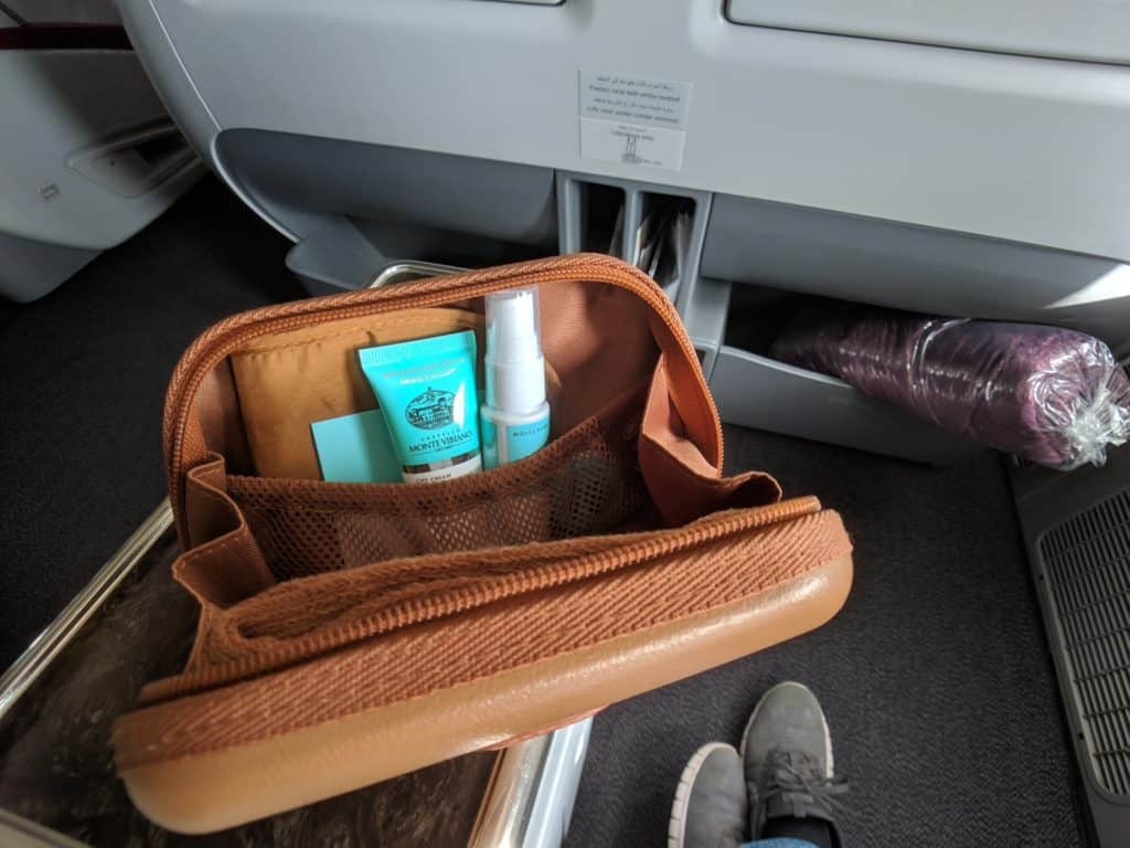 2019 Qatar Airways 777 Business Class Review 018
