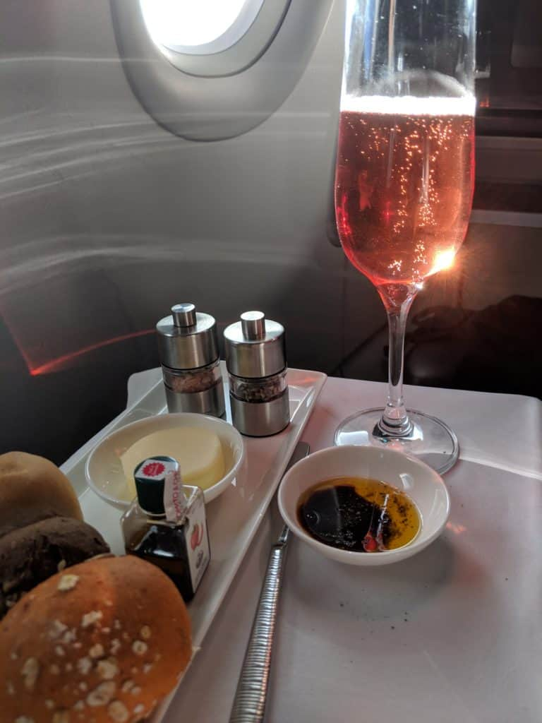 2019 Qatar Airways A320 Business Class Review 009