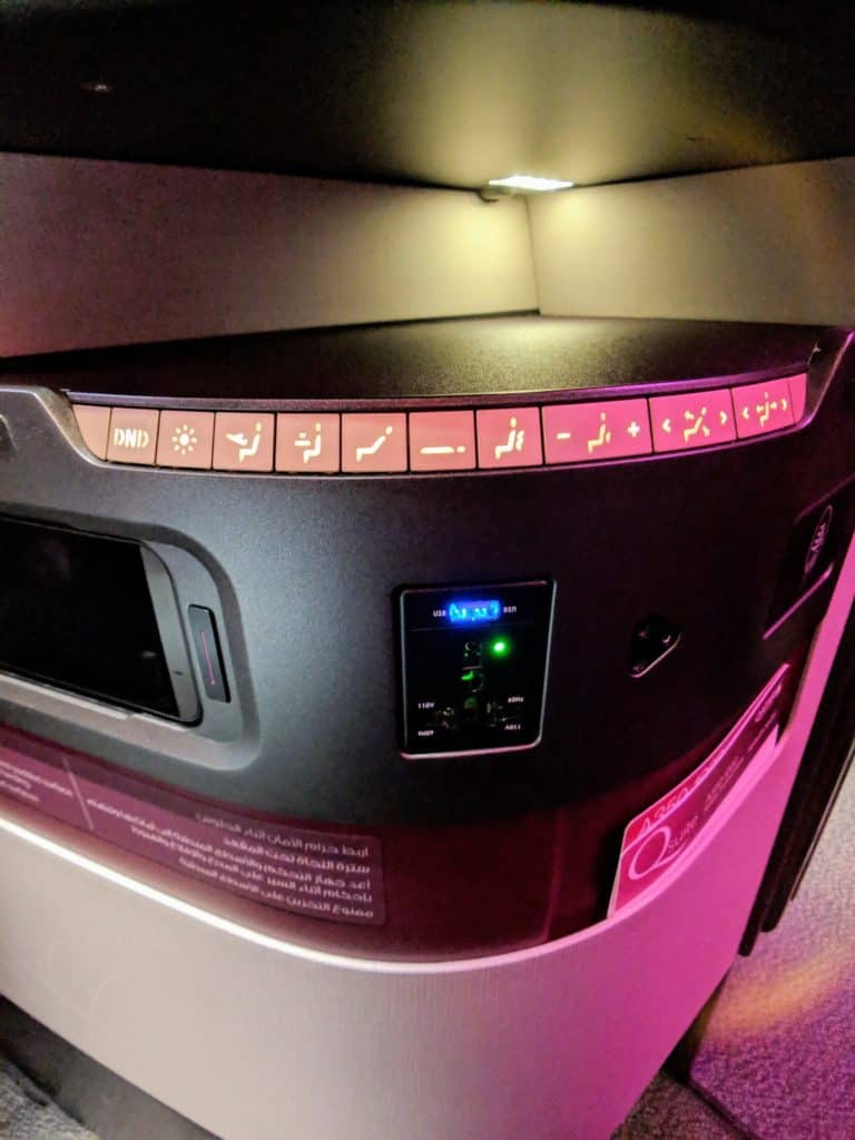 Qatar Airways Qsuites Review A350 001