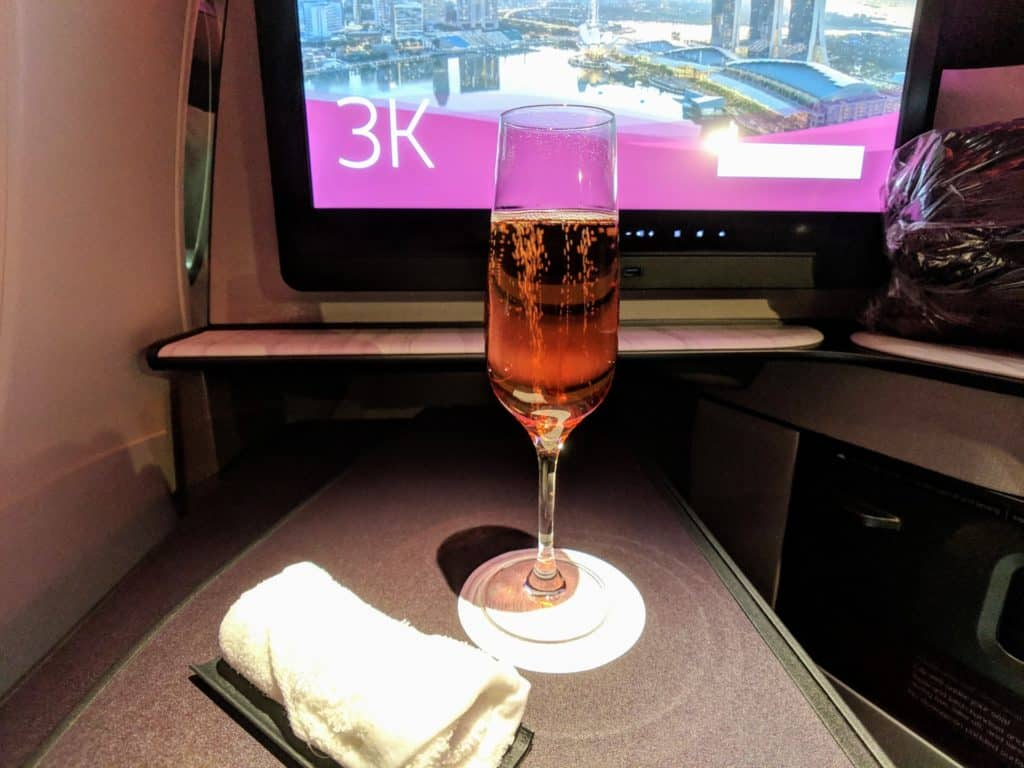 Qatar Airways Qsuites Review A350 003