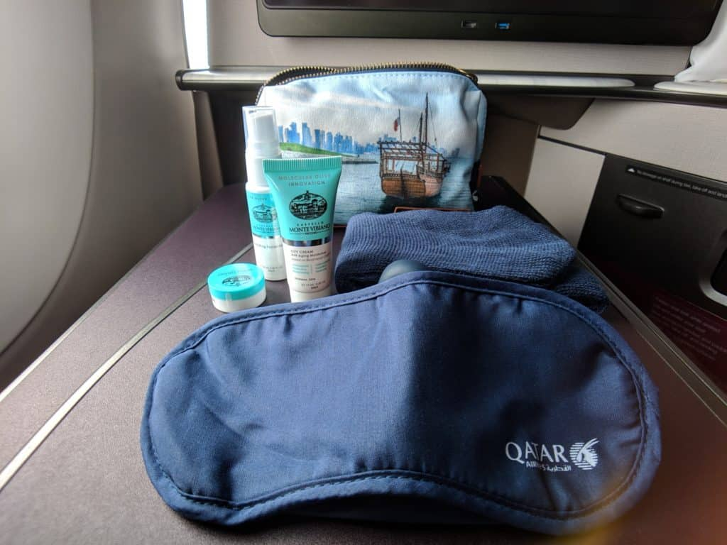 Qatar Airways Qsuites Review A350 018