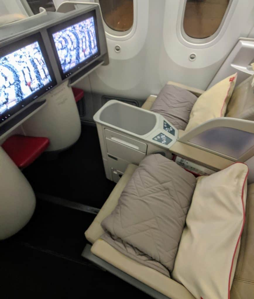 Royal Jordanian 787 Business Class Review 001