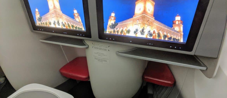 Royal Jordanian 787 Business Class IFE