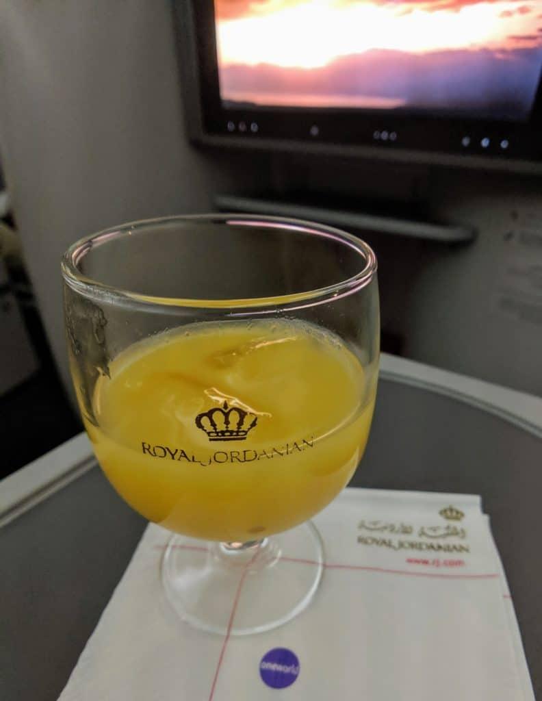 Royal Jordanian 787 Business Class Review 006