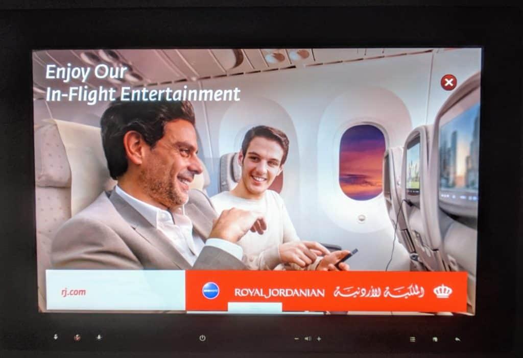 Royal Jordanian 787 Business Class Review 014