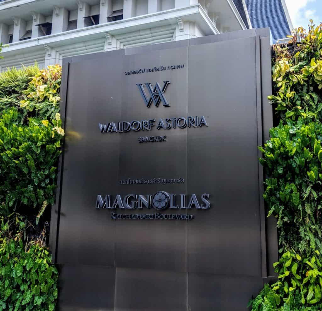Waldorf Astoria Bangkok Hotel Review 012