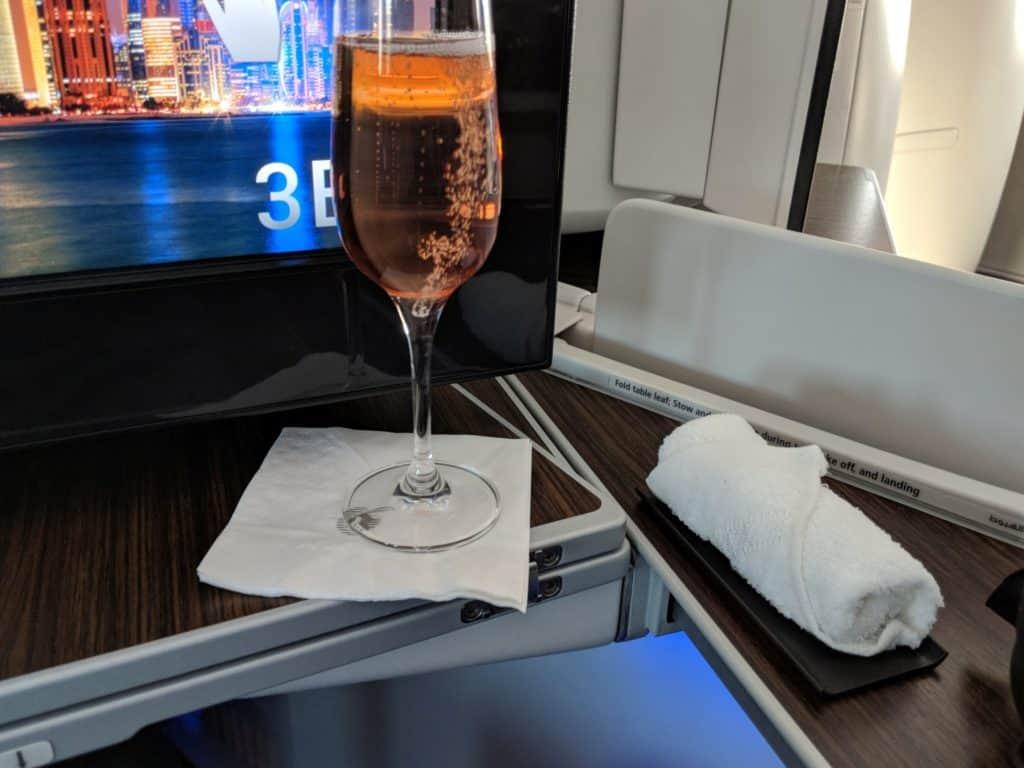 2018 Qatar Airways Business Class 787 Hel Doh 0010