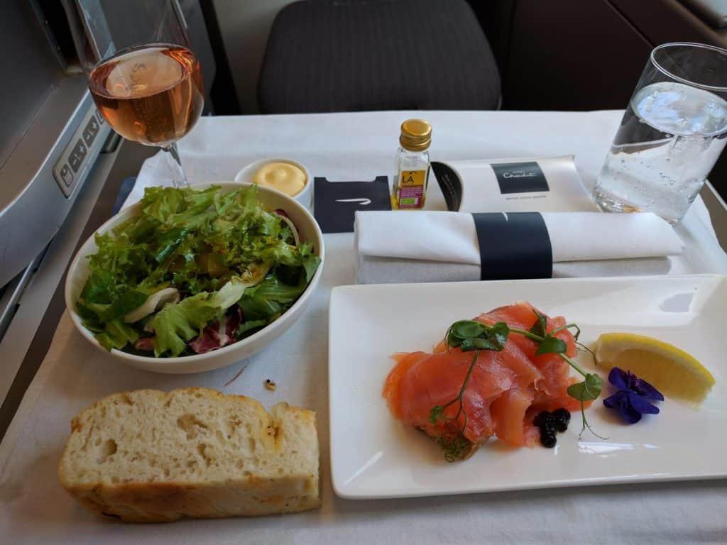 Ba A380 Dinner1