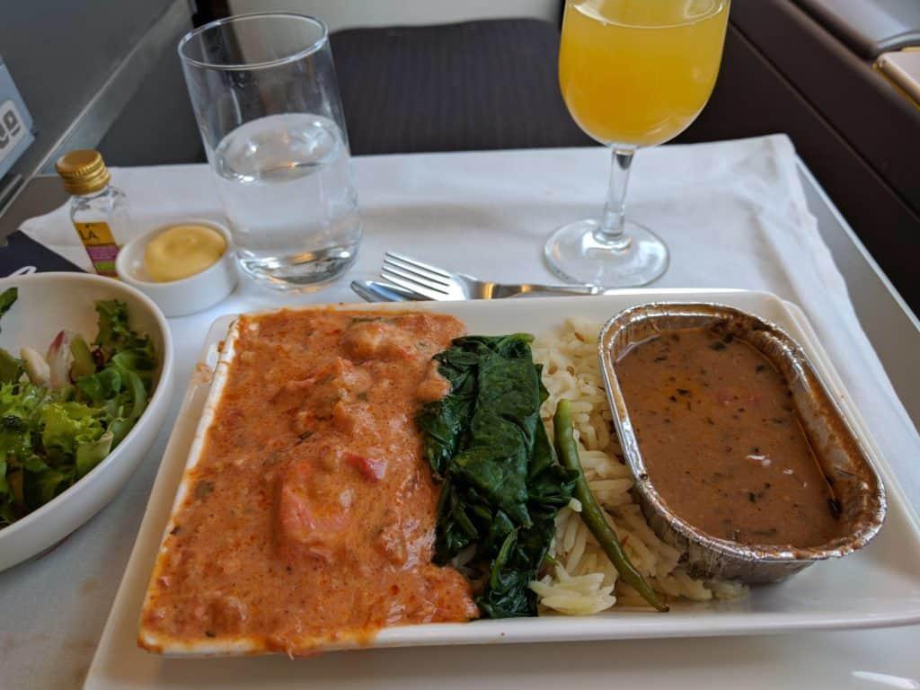 Ba A380 Dinner2