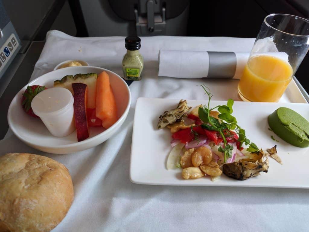 Ba A380 Light Lunch2