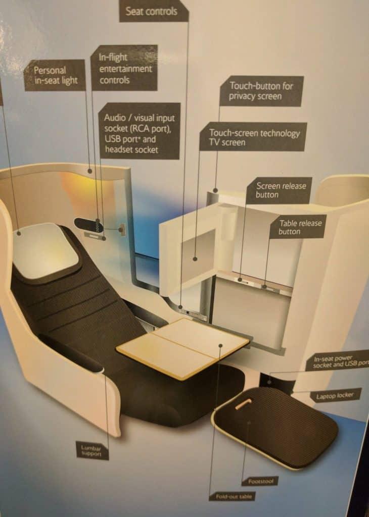 Ba A380 Seat Info