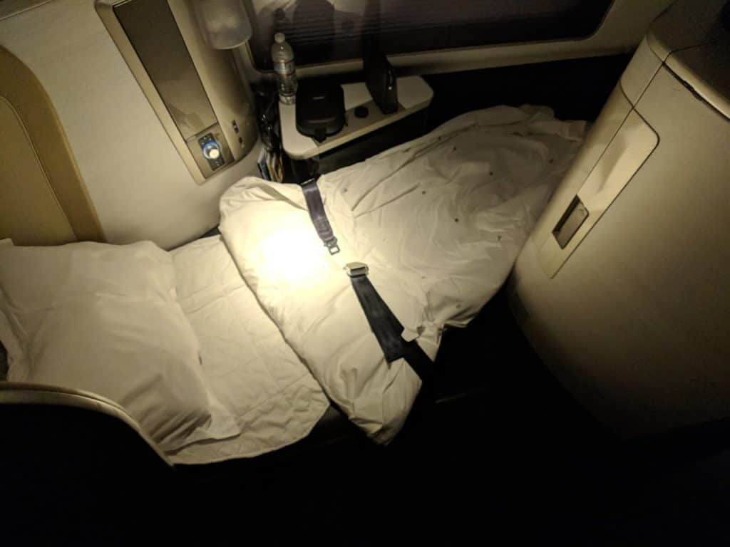 British Airways 747 First Class Lhr Las 015