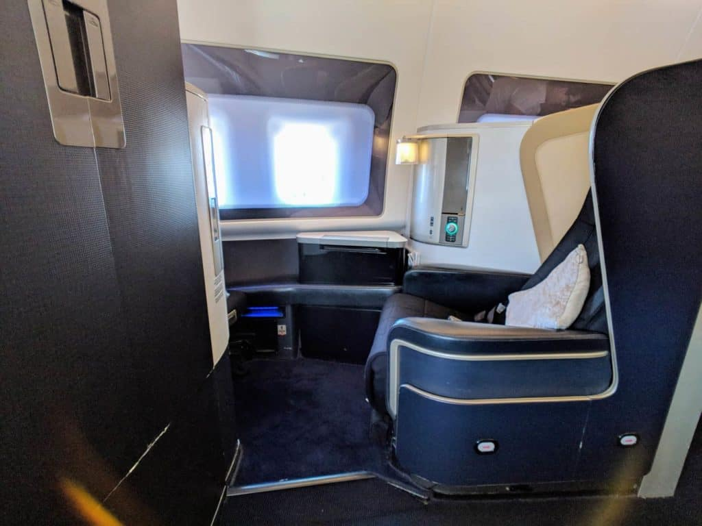 British Airways 747 First Class Lhr Las 021