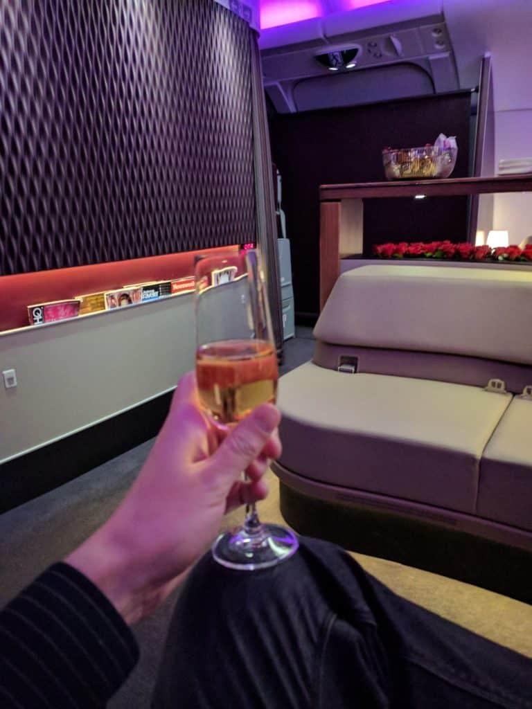 Qatar Airways Lounge1