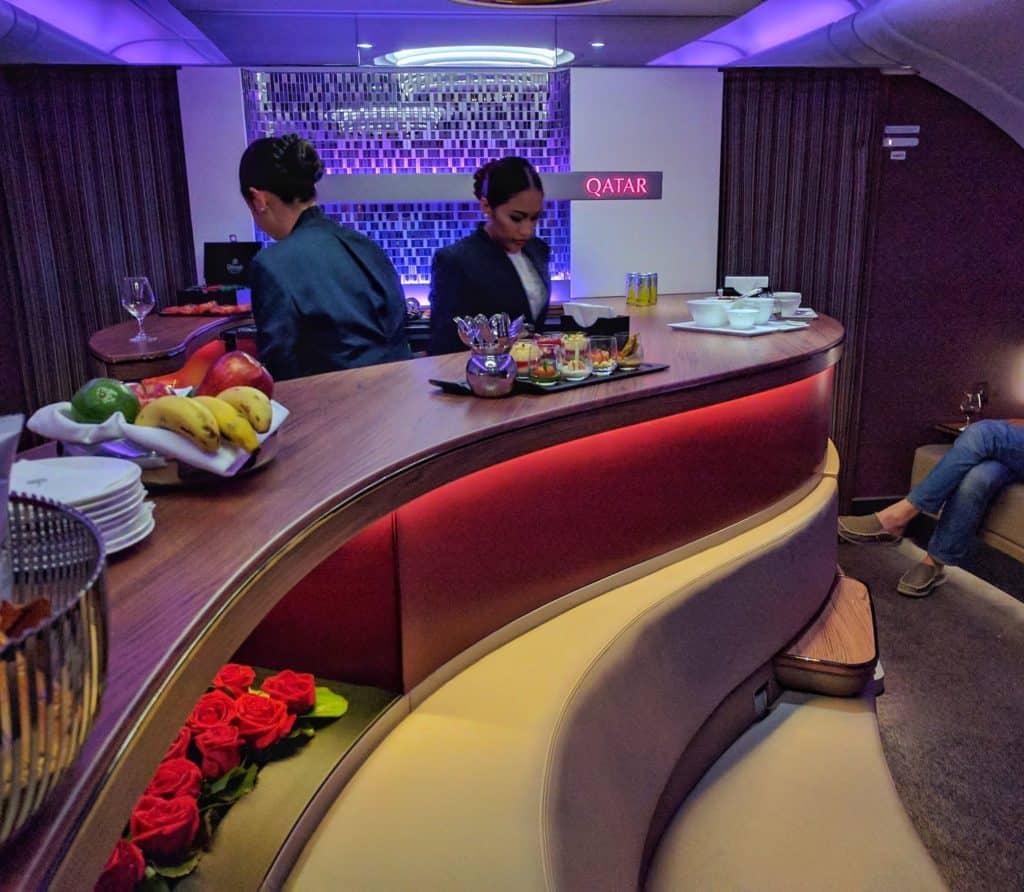 Qatar Airways Lounge2