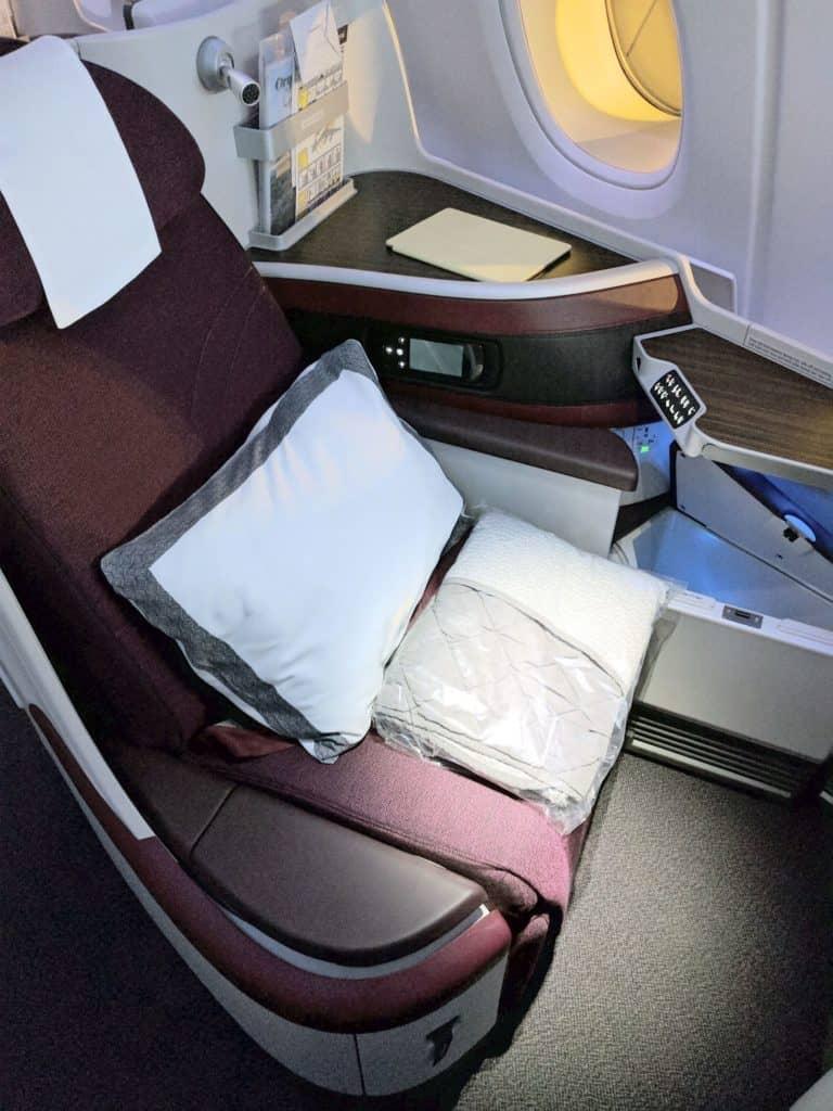 Qatar Airways Seat1