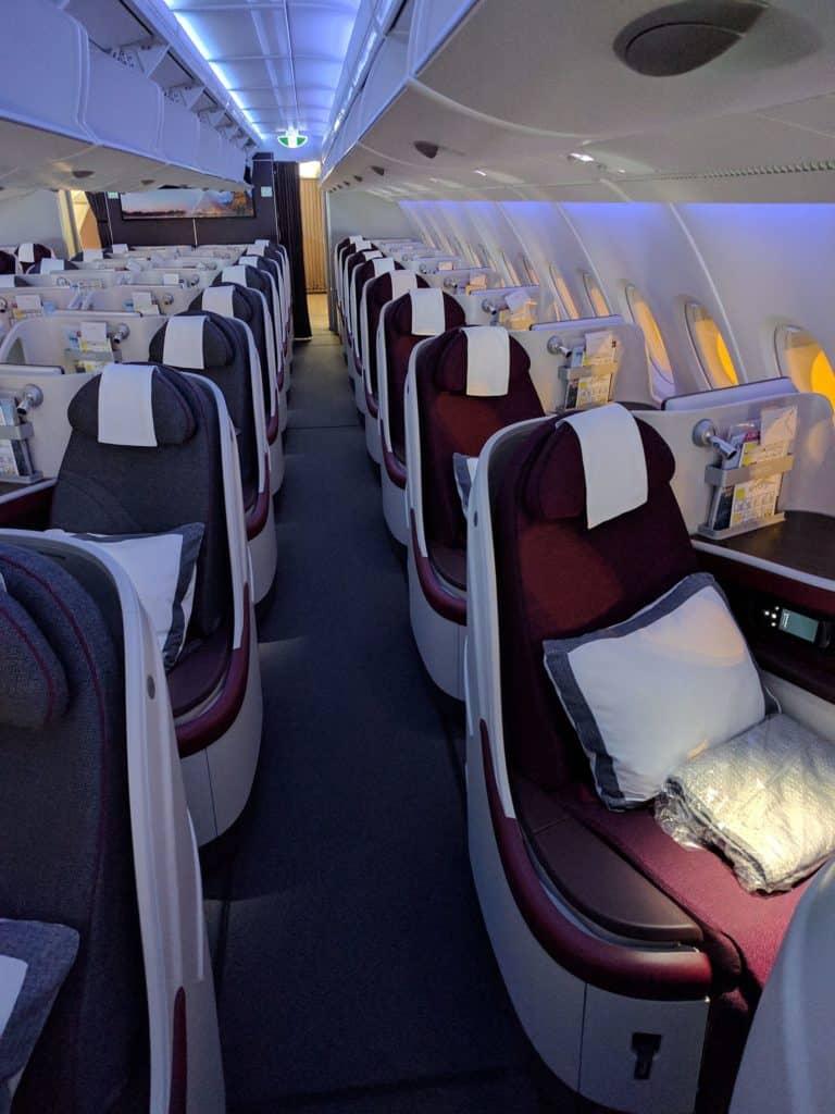 Qatar Airways Seats