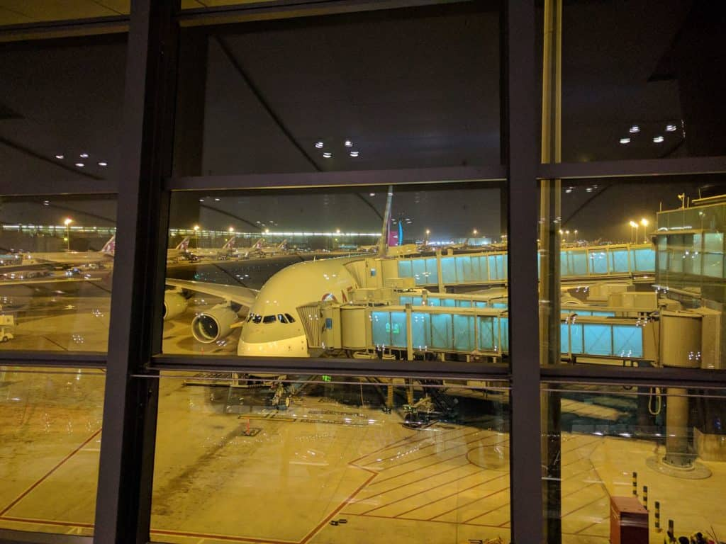 Review Qatar Airways A380 Business Class From Doha To Bangkok